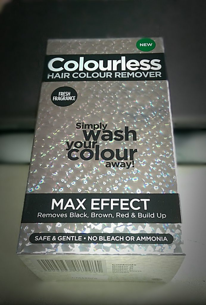 Review Colourless Hair Colour Remover Max Effect